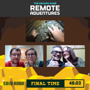 Gold Rush The Escape Game Remote Adventure