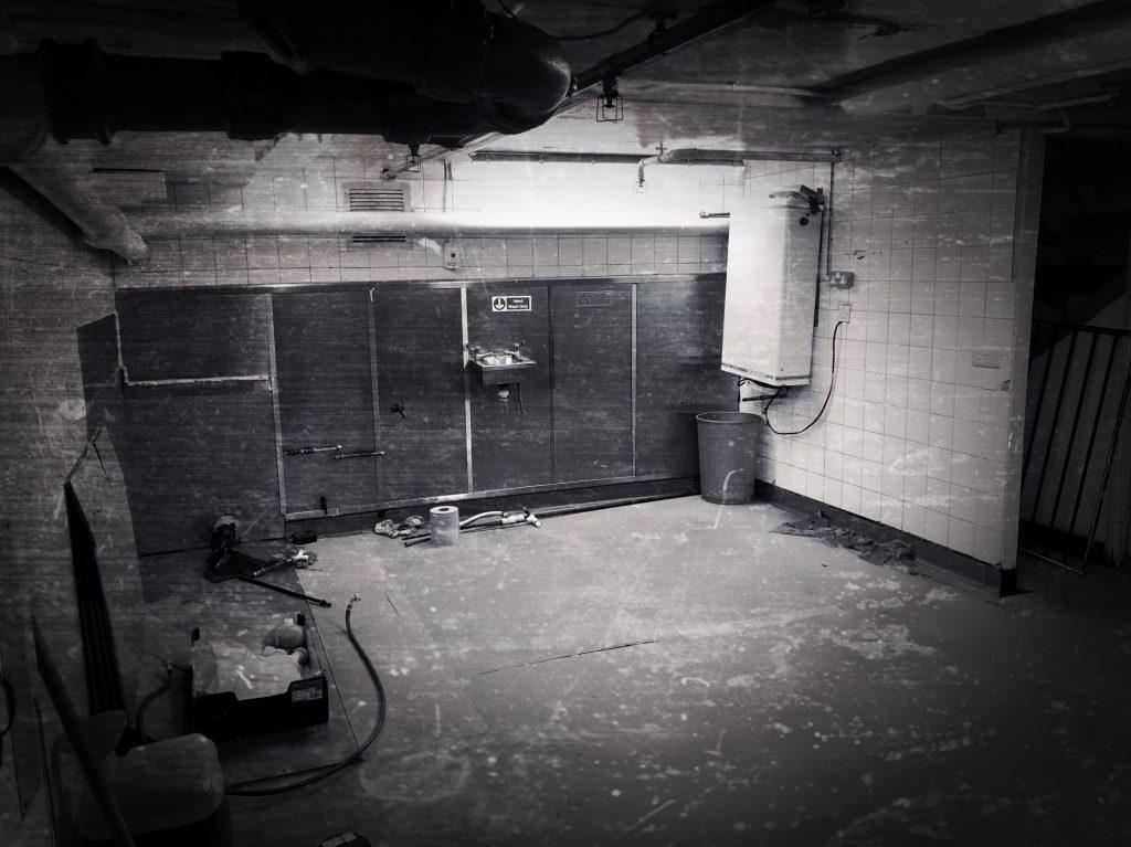 Haunted Salisbury kitchen