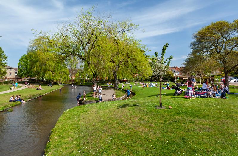 Queen Elizabeth Gardens Salisbury